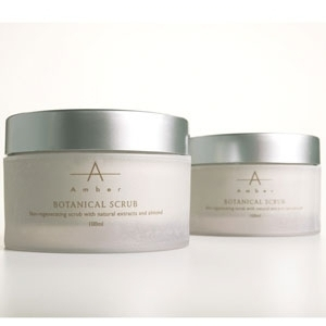 Botanical Scrub 100 mL. by Amber Products (AMBF100)