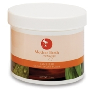 Zanzibar Clove Sugar Scrub 32 oz. by Mother Earth (P500)