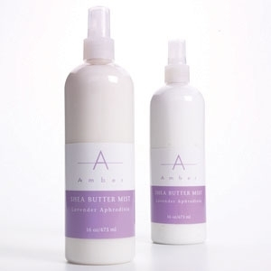 Lavender Shea Butter Mist 16 oz. by Amber Products (AMB535-L)