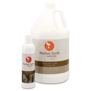 Indonesian Sesame Oil 128 oz. by Mother Earth (P440)
