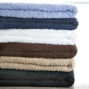 "Navy Hand Towels 15"" X 25"" 1 Dozen by Diamond Towels (DT-25)"