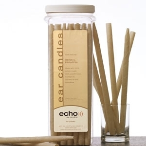 Ear Candles Herb - Paraffin 50 Count by Echo Ear Candling (WE1350)