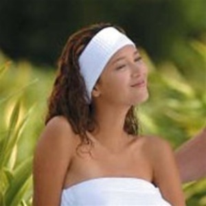 Microfiber Headband White / 3 Pack by Boca Terry (SSSW079)