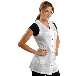 Nylon Vest Black or White (910)