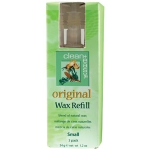 Original Wax Refill Small 3 Pack by Clean & Easy (CE-41633)
