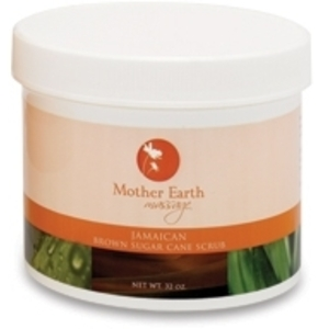 Jamaican Brown Sugar Scrub 32 oz. by Mother Earth (P504)