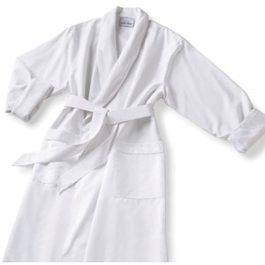 Microfiber Robe White by Boca Terry (SSSW036)