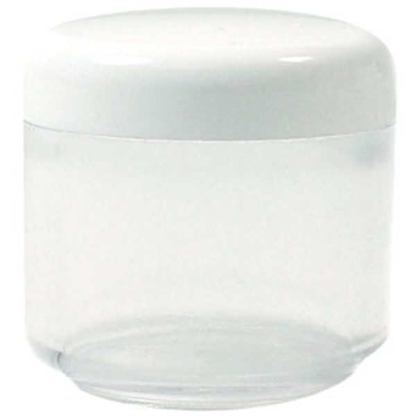 Jar and Cap Round .57 oz. 50 Pack (Q-53)
