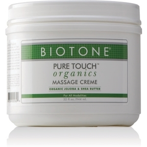 Pure Touch Organic Massage Creme 32 oz. by Biotone (BIOORG32)
