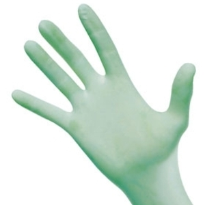 AloeTouch Latex Gloves Medium Box of 100 by Medline (ML-22)