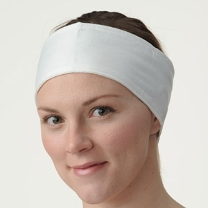 "Disposable Deluxe Headbands 3"" x 27"" 10 per Pack 10 Pack Case (NR117)"