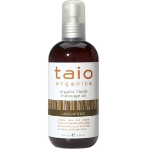 Facial Massage Oil Unscented 8 oz. by Taio Organics (TO440)