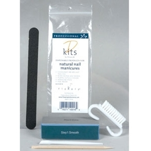 Disposable Service Kit Natural Nails (FL-22)