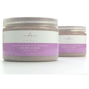 Lavender Hand Scrub 13 oz. by Amber Products (AP103)