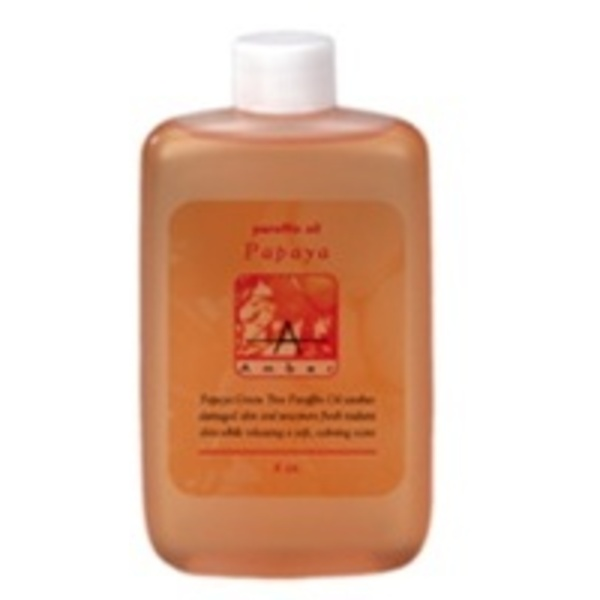 Papaya Paraffin Oil 4 oz. by Amber Products (AP174)