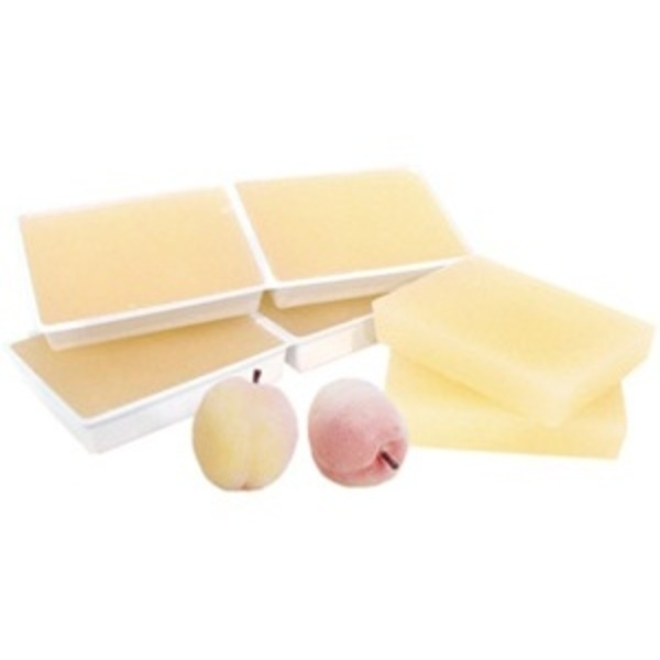 Peach Paraffin Wax 36 Lbs. by Amber Products (AP168-P)
