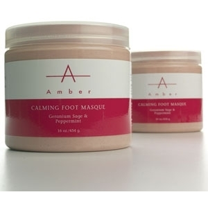 Geranium SagePeppermint Calming Foot Masque 64 oz. by Amber Products (AP127)