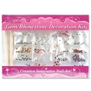 Gem Rhinestone Decoration Kit Nail Art (8000)