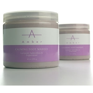 Lavender Calming Foot Masque 16 oz. by Amber Products (AP124)