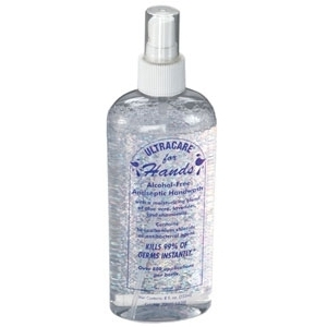Ultracare Instant Hand Sanitizer 8 oz. by Ultronics (SSDIS008)