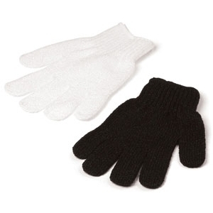 Exfoliating Gloves Black (996-B)