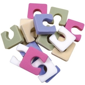 Toezees Toe Separators Mixed Pastels 144 Pack by Toezees (326)