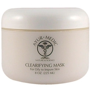 Clearifying Mask 8 oz. by Ayur-Medic Skincare (AM028P)