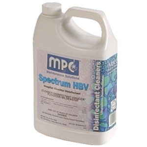 Spectrum HBV Disinfectant Metal & Plastic Cleaner 1 Gallon by MPC (SSDIS010)
