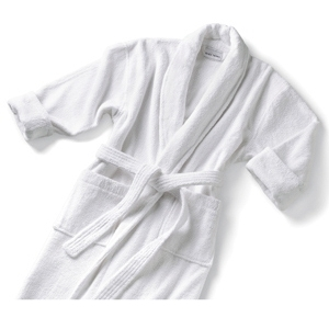 Terry Shawl Collar Robe White XXL by Boca Terry (SSSW063)