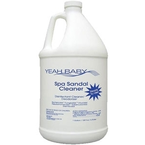 Spa Sandal Cleaner 4 Gallon Case by Yeah Baby (YB-100C)