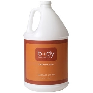 Unscented Lotion 128 oz. by Body Concepts (P280)