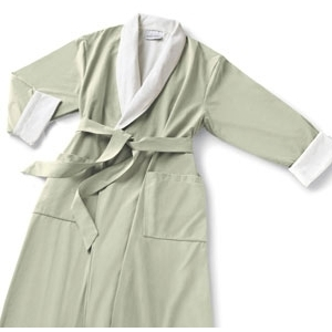 Microfiber Robe Sage by Boca Terry (SSSW057)