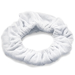 White Tassi Hair Bands 20 Pack by Tassi (T101-WB)