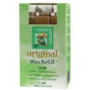 Original Wax Refill Large 12 Pack by Clean & Easy (CE-41612)