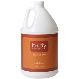 Almond Oil 128 oz. by Body Concepts (P286)