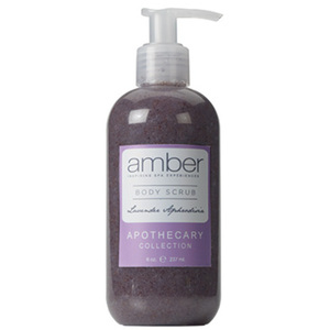 Lavender Aphrodisia Body Scrub 8 oz. Case of 6 by Amber Products (AMBR652-L)