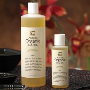 Aussie Organic Emu Oil 4oz by Aussie Emu Oil (PO04)