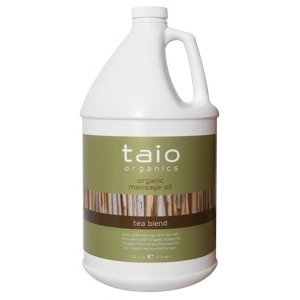 Tea Massage Oil 128 oz. by Taio Organics (TO414-T)
