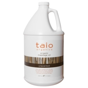 Unscented Massage Oil 128 oz. by Taio Organics (TO414-U)
