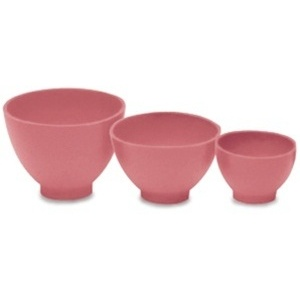 "Rubber Mixing Bowl - Pink Medium 4.25"" (SSBB002P)"
