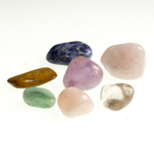 Semi-Precious Chakra Stones Set of 7 by Amber Products (AMB827)