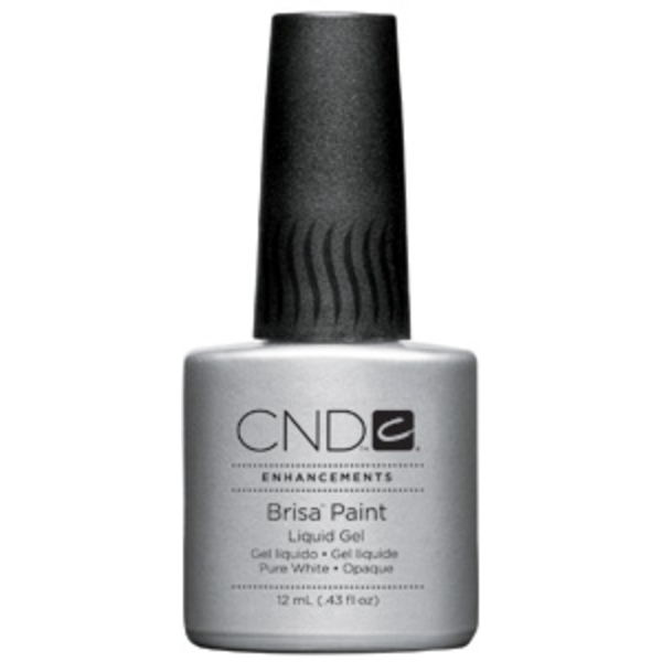 Brisa Paint Pure White-Opaque 0.43 oz. by CND (CN08055)