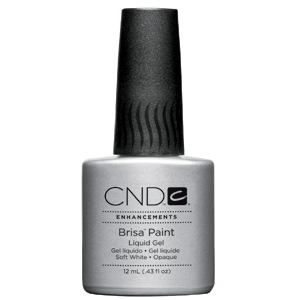 Brisa Paint Soft White-Opaque 0.43 oz. by CND (CN08059)