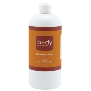Aloe Vera Gel 32 oz. by Body Concepts (PAV32)