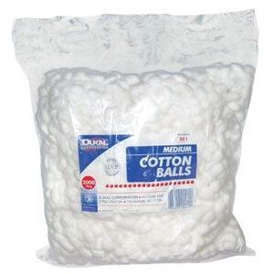 Cotton Balls - Medium Bag of 2000 (DK801)