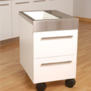 Mobility Cart with Bunker by Amber Products (AMBSS921B)