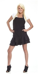 The Frill Haircutting Apron - Black Tie (BL8055)