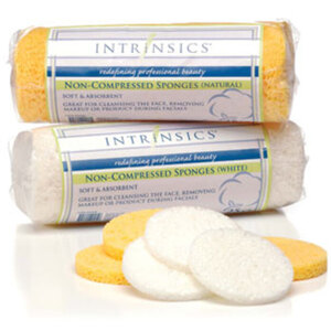 Intrinsics Non-Compressed Sponge - Natural 25 Pack (INT401436)