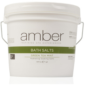 Bath Salts - Green Tea Mint 128 oz. (721-GT)