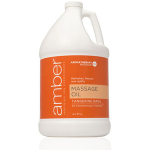 Massage Oil - Tangerine Basil 128 oz. (527-TB)